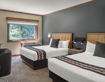 double room at skamania