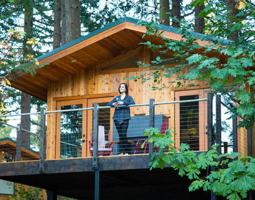 Skamania Lodge Tree House King