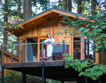 tree house at skamania lodge