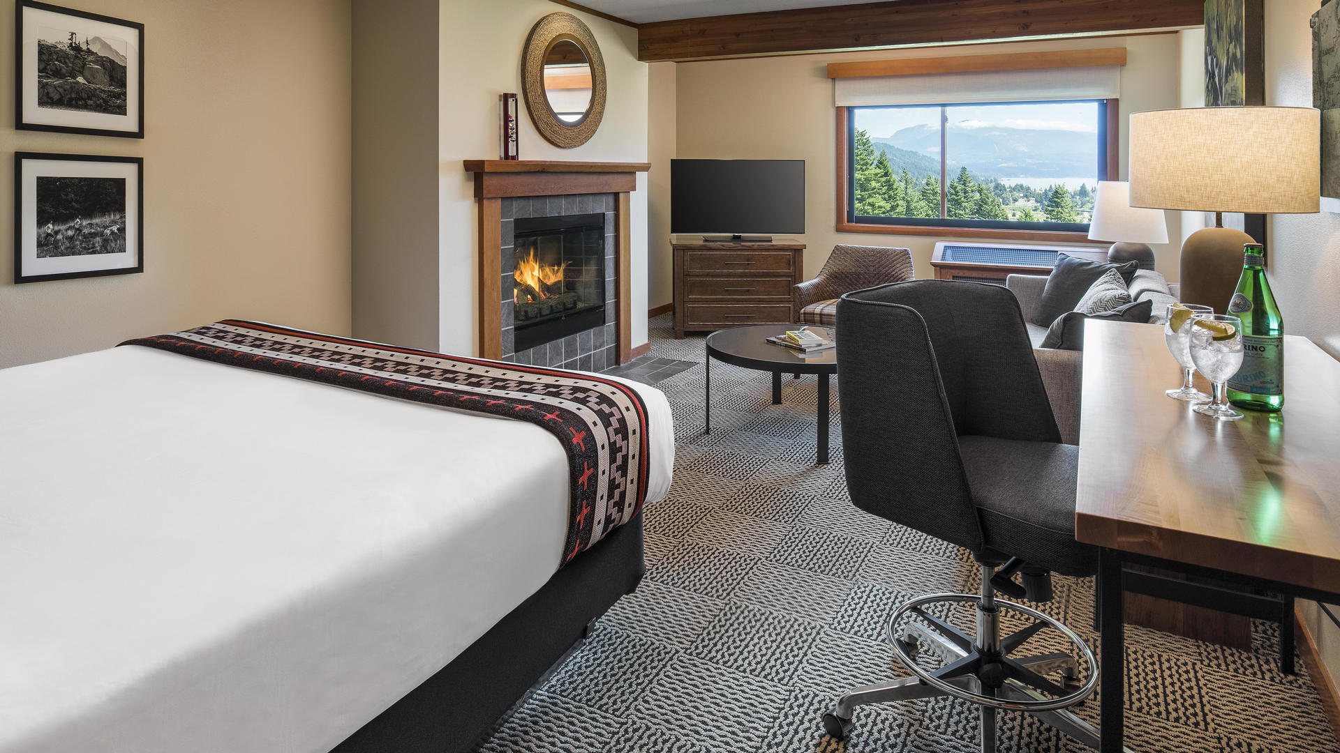 hotel lodging at skamania