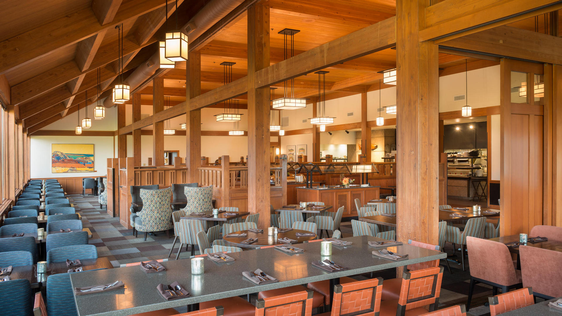 cascade dining room